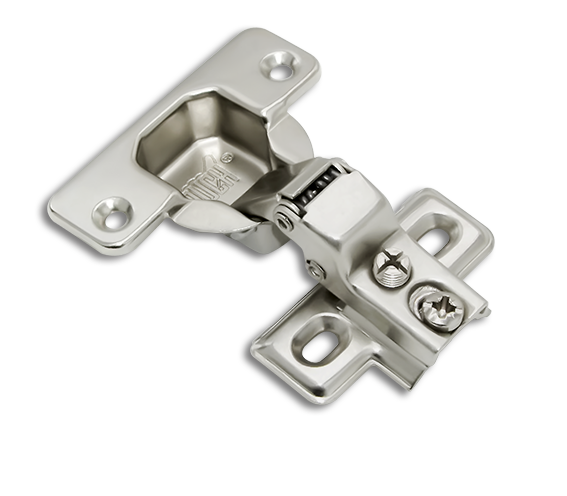 Face Frame Nickel Mounting Plate Euro Concealed 0 mm